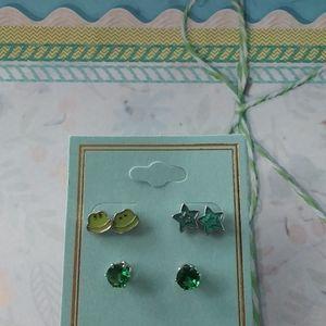 Frog Earrings set